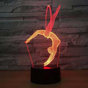 3D hangulat lámpák