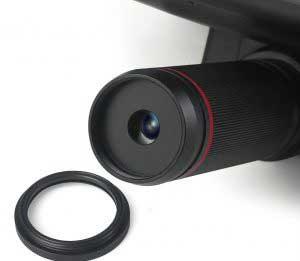 Andonstar AD407 digitális mikroszkóp finombeállítás manuális fókusz