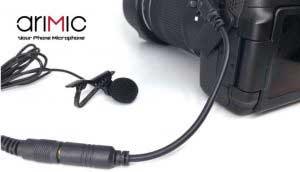 AriMic csiptetős dupla mikrofon