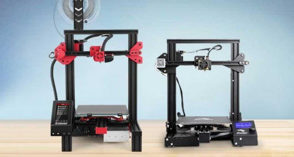 Alfawise U30 PRO vagy a Creality Ender 3 PRO 3D nyomtatók