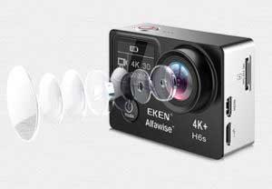 EKEN H6S akció kamera teszt - 14mp képfelbontás