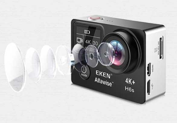 EKEN H6S akciókamera teszt - 14mp képfelbontás