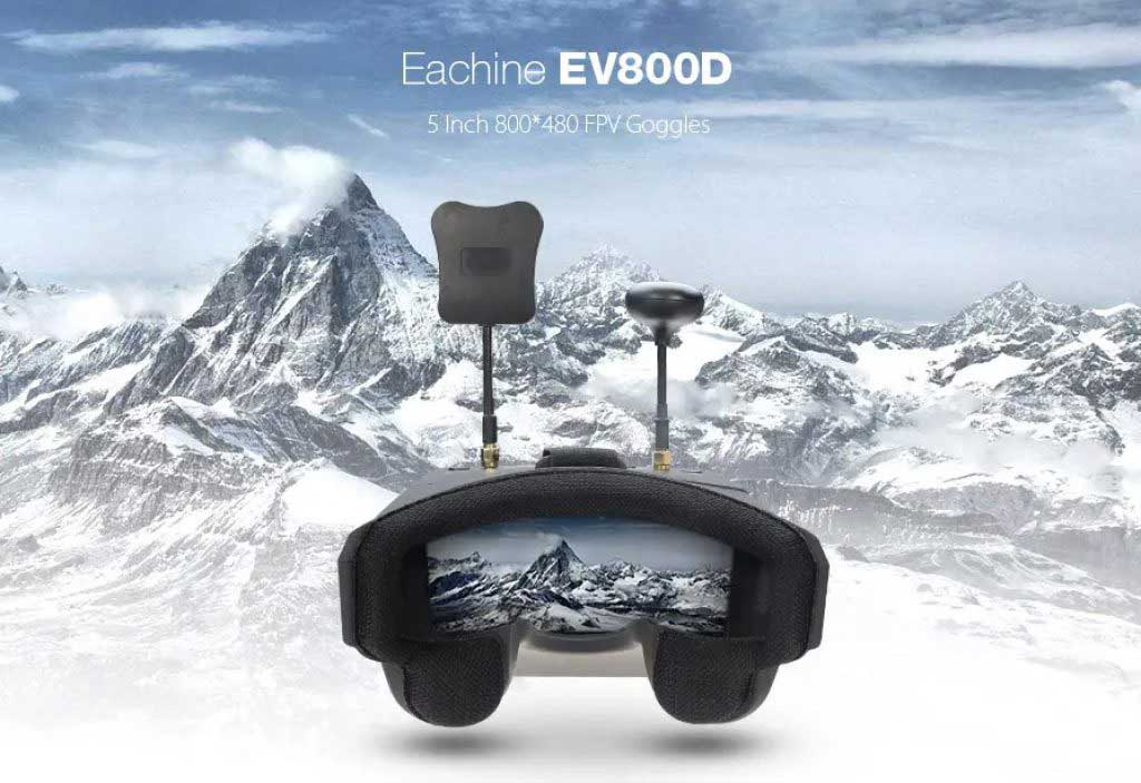 Eachine EV800D FPV szemüveg