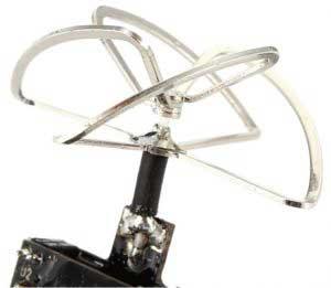 Drón Tuning – Eachine TX03 VTX 4 leaf antenna