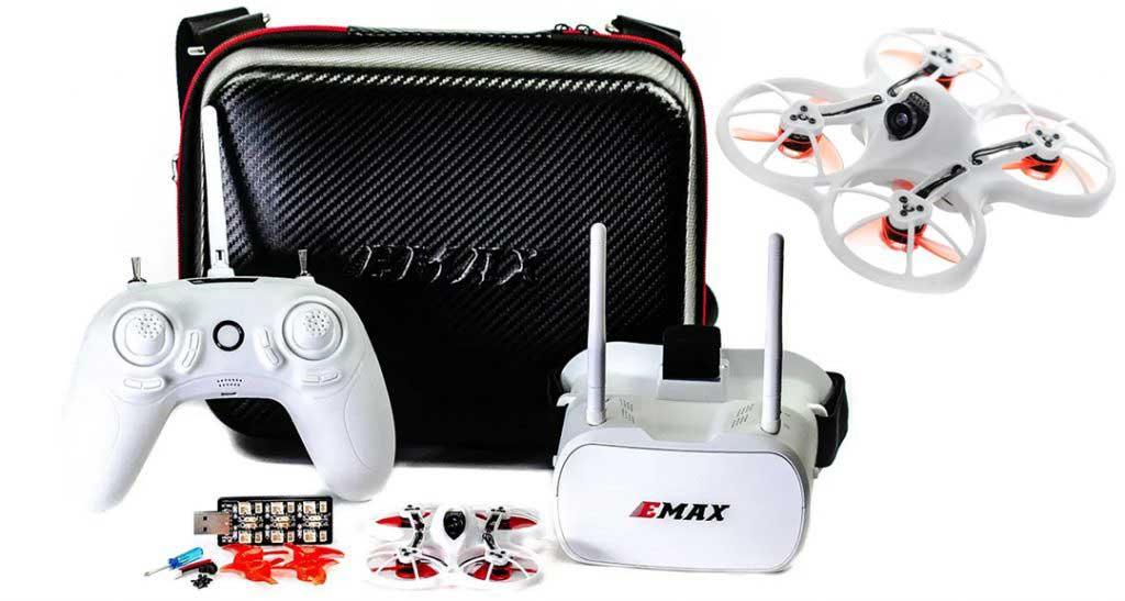 Emax Tinyhawk kezdő FPV verseny drón szett