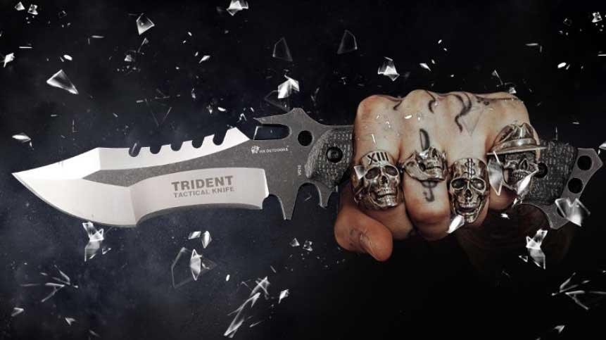 HX OUTDOORS VG10 vadász és túlélő kés