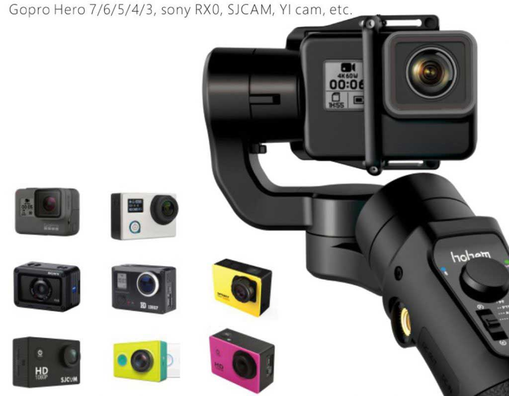 Hohem iSteady Pro 2 akciókamera gimbal