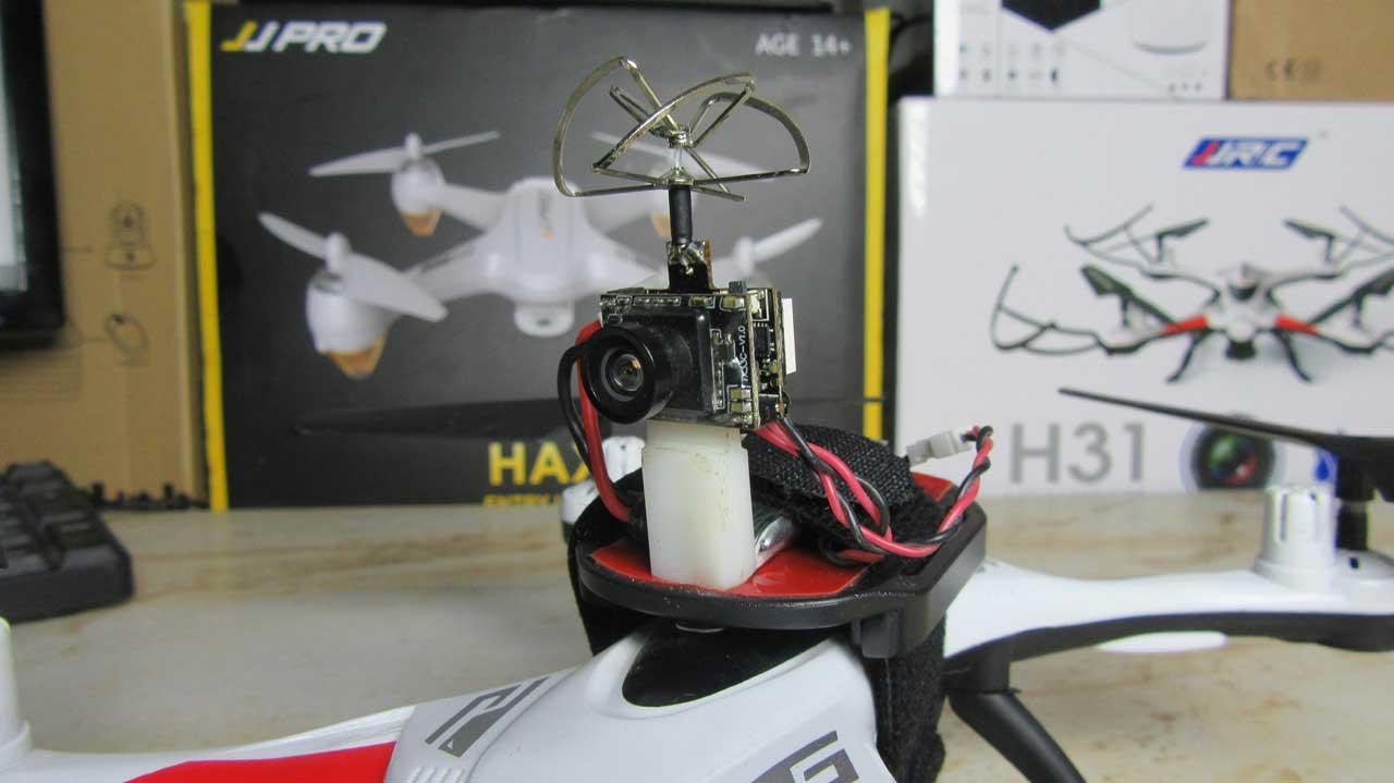 Drón Tuning - JJRC H31 Eachine TX03 VTX