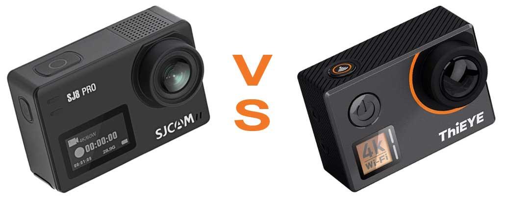 SJCAM SJ8 Pro VS ThiEYE T5 Edge