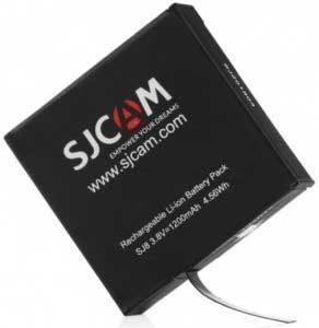 SJCAM SJ8 Pro akciókamera teszt – tartalék akkumulátor