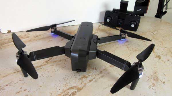 SJRC F11 drón teszt