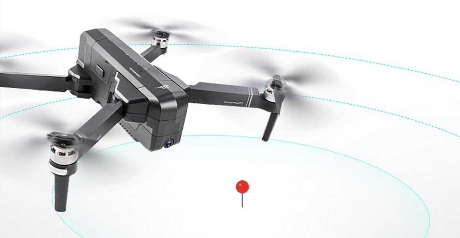 SJRC F11 szelfi drón