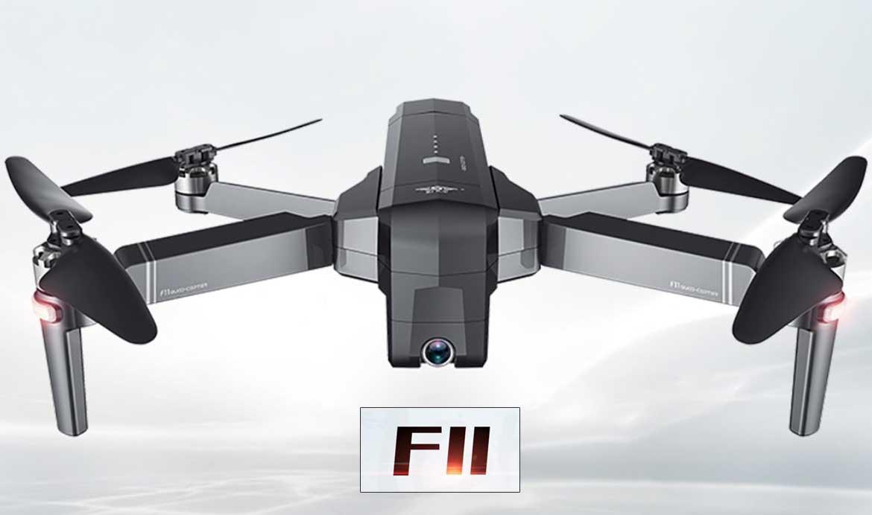 SJRC F11 összehajtható FULL HD kamerás drón kezdőknek