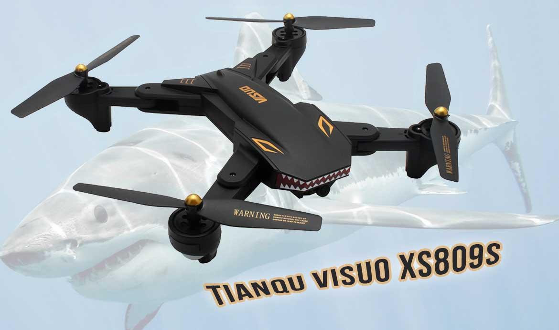 TIANQU VISUO XS809 drón teszt