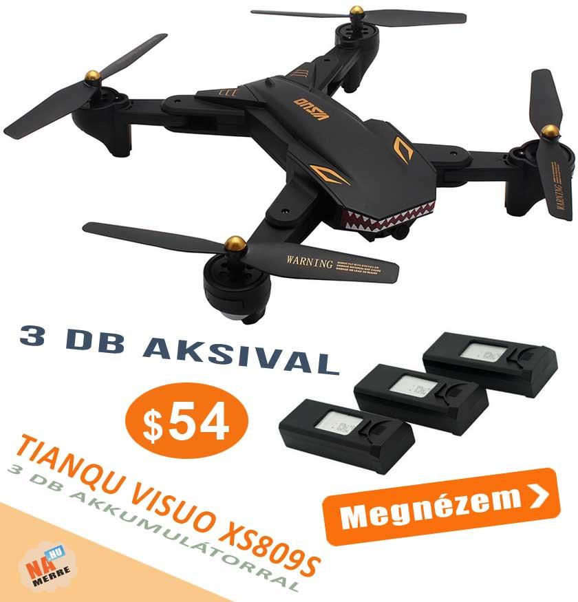 TIANQU VISUO XS809S drón akció