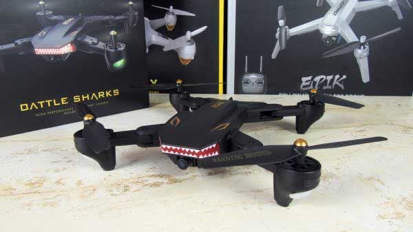 Tianqu Visuo XS809S drón teszt