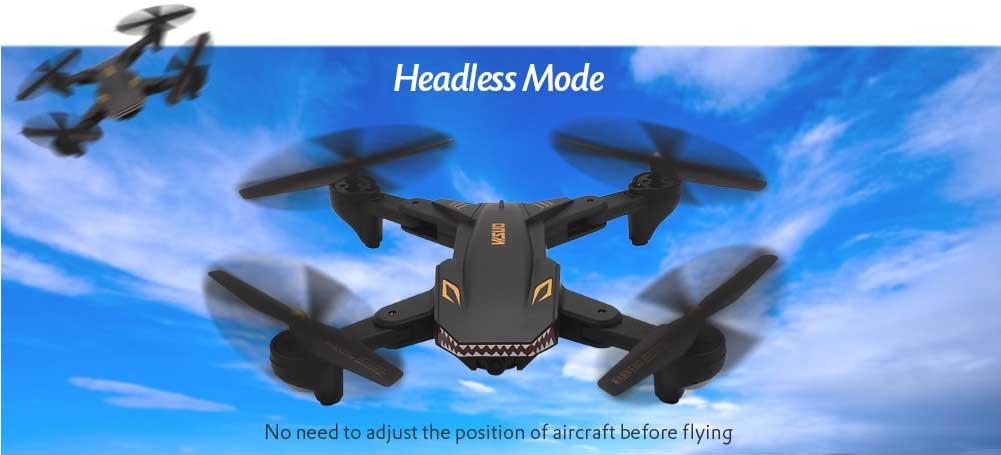 TIANQU VISUO XS809S drón teszt headless mód