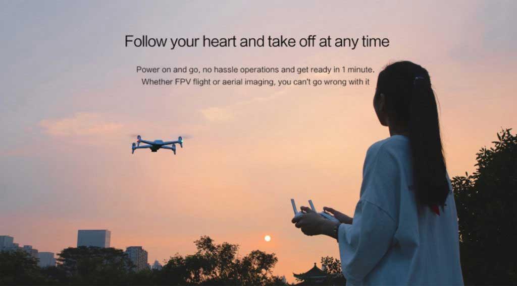 Xiaomi FIMI A3 drón teszt
