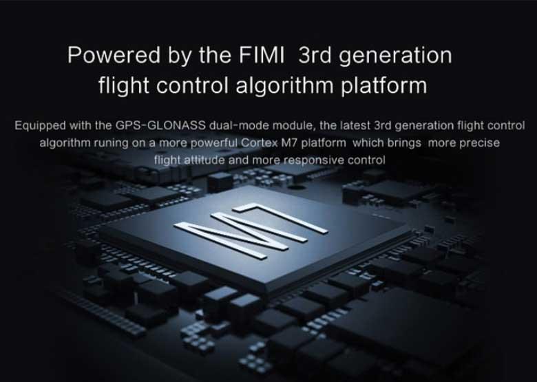 Xiaomi FIMI A3 drón teszt - M7 processzor