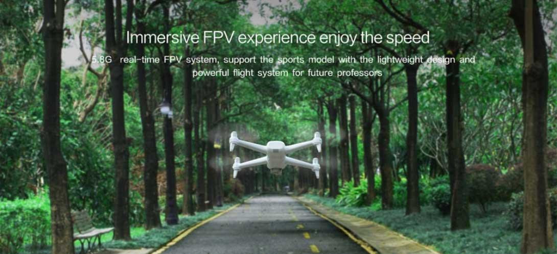 Xiaomi FIMI A3 drón teszt - sport repülés