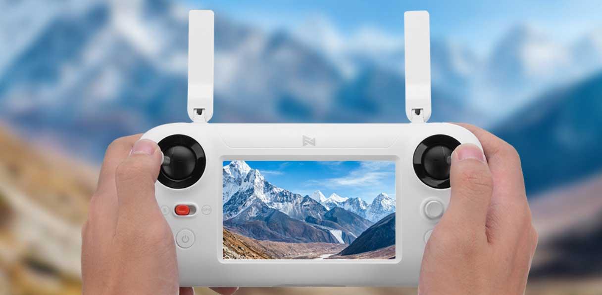 Xiaomi FIMI A3 drón teszt - távirányító