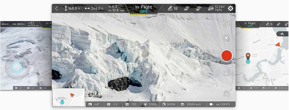Xiaomi X8 SE 4K drón applikáció