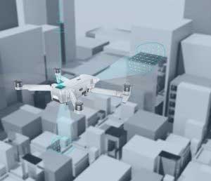 drón teszt - precíziós pozícionáló rendszer