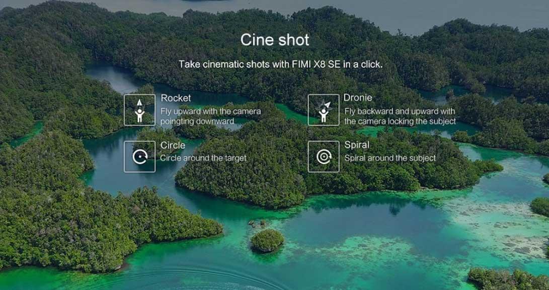 Xiaomi Fimi X8 SE 4K drón teszt - filmes lövés
