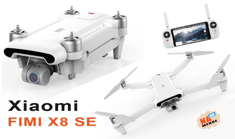 Xiaomi Fimi X8 SE 4K drón teszt