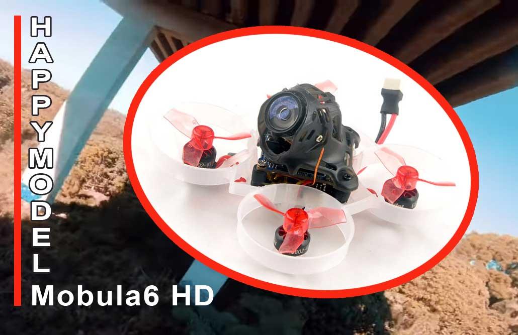 Happymodel Mobula6 HD drón teszt – A világ legkisebb FULL HD drónja