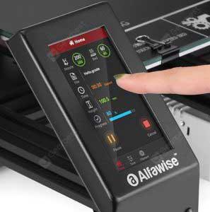 Alfawise U30 PRO 3D nyomtató kijelző
