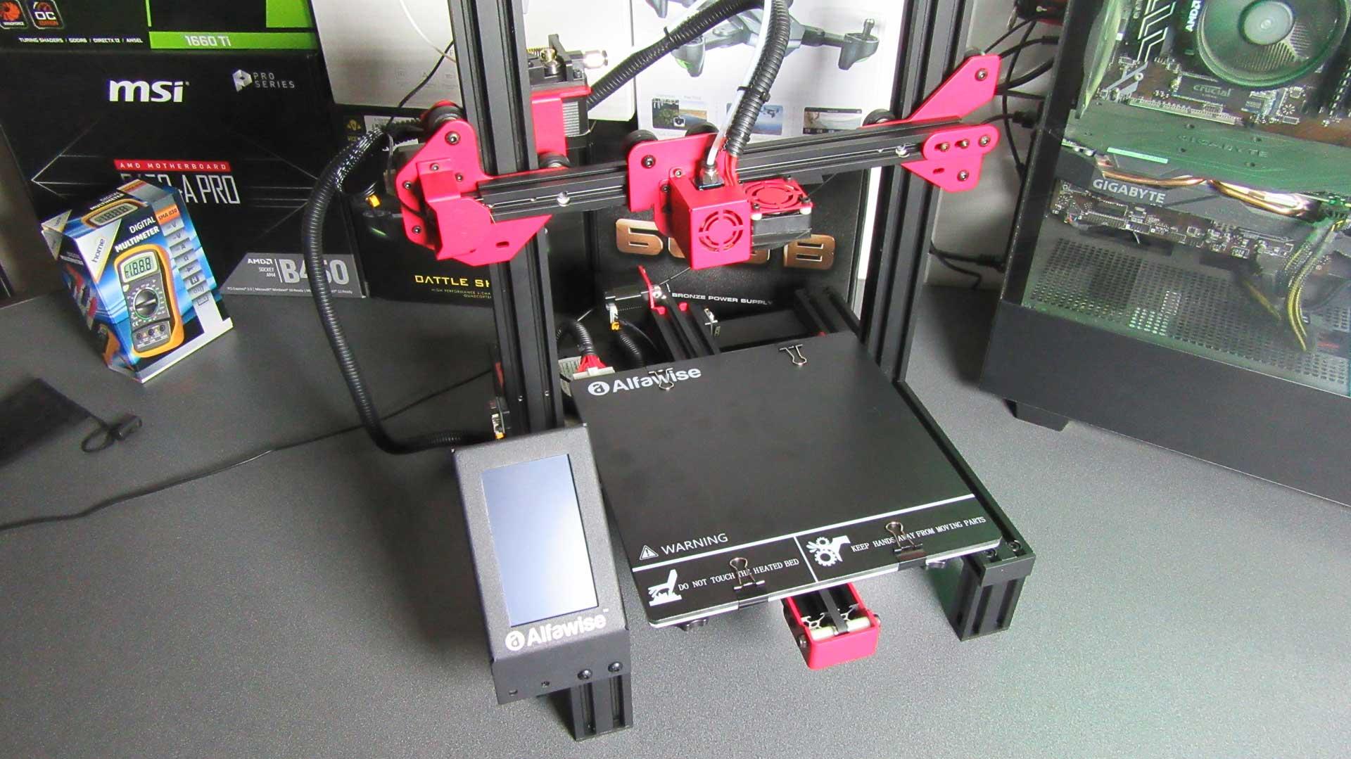 Alfawise U30 PRO 3D nyomtató teszt