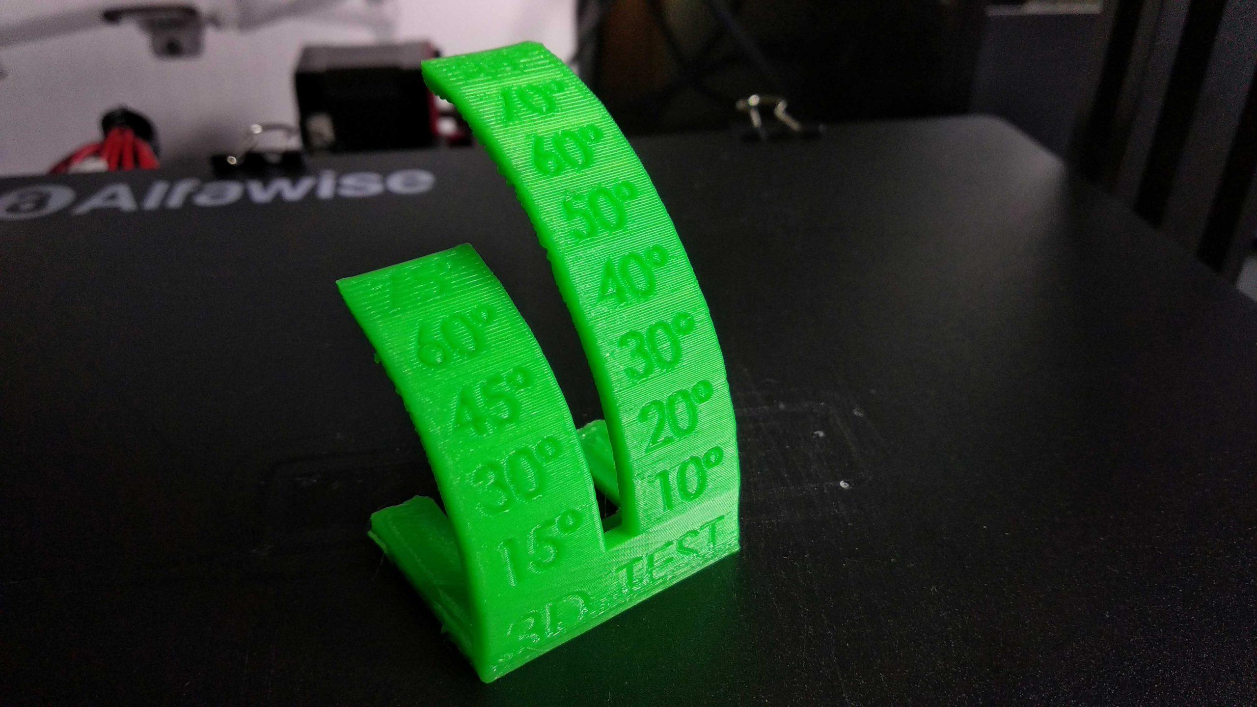 Alfawise U30 PRO 3D nyomtató teszt nyomtatás