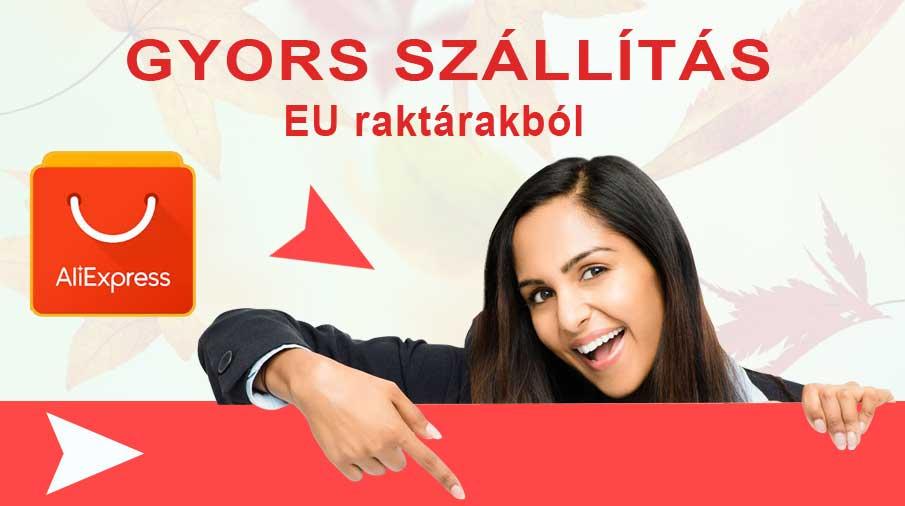 AliExpress EU raktár kereső – Gyors szállítás