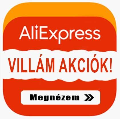 Aliexpres Villám Akciók