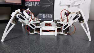 Arduino Nano 3D nyomtatott robot pók