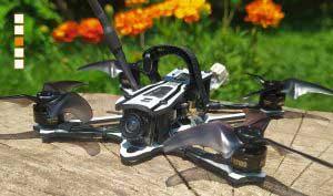 FPV verseny drón repülés
