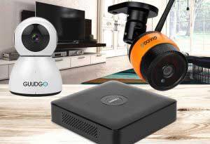 CCTV WiFi IP kamera megfigyelő rendszer
