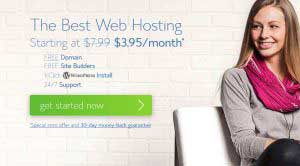 Webtárhely választás Bluehost