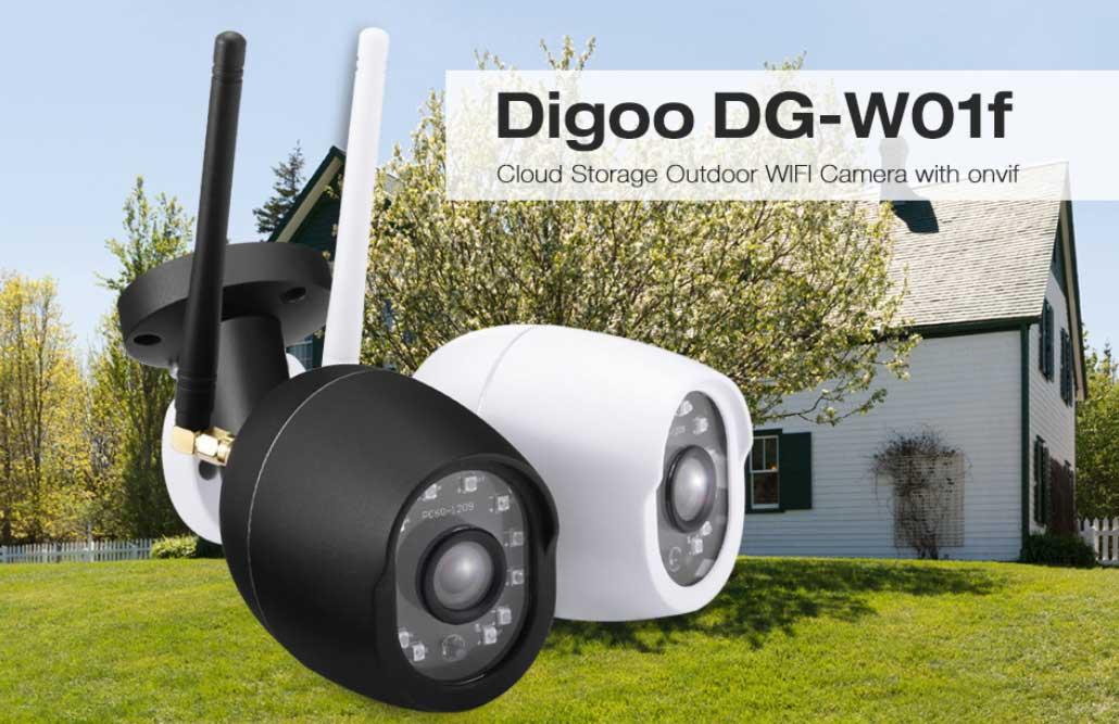 Digoo DG-W01f kültéri WiFi IP kamera teszt – Kicsi a bors de erős