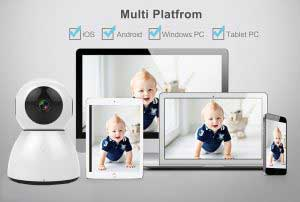 WiFi IP kamera multi platform