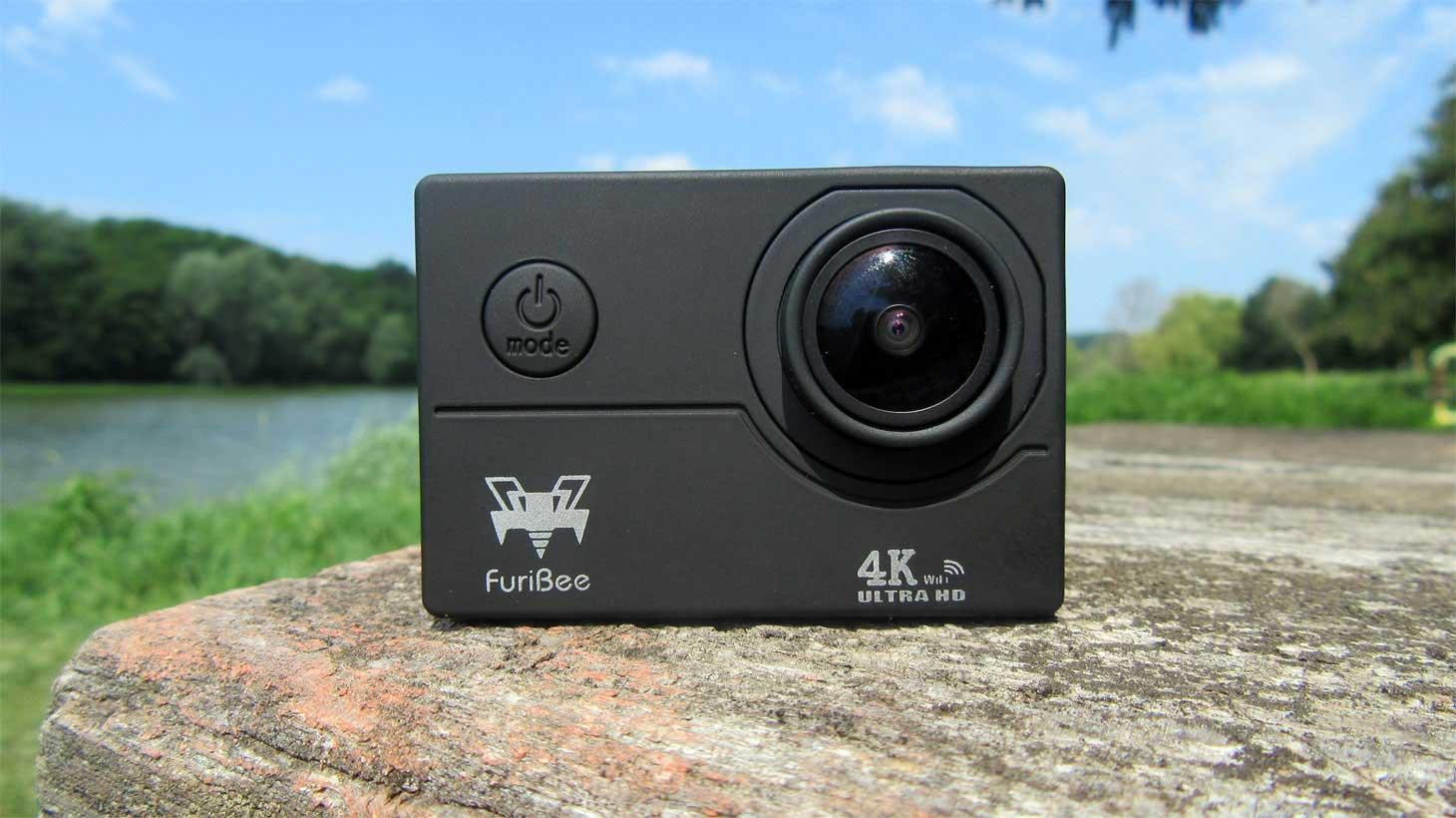 FuriBee F60 4K akciókamera teszt