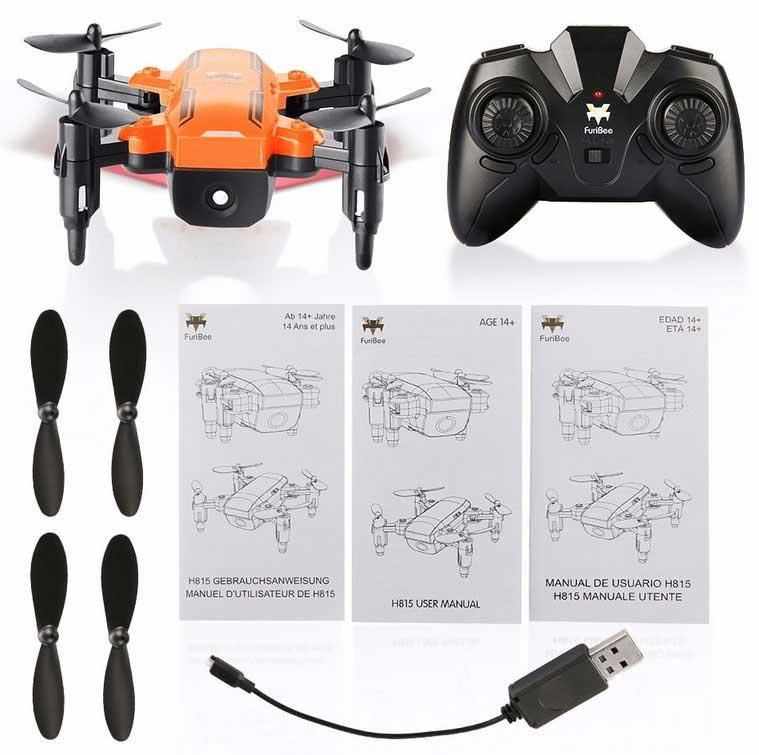 nano DJI Spark FuriBee H815 drón tartozékok