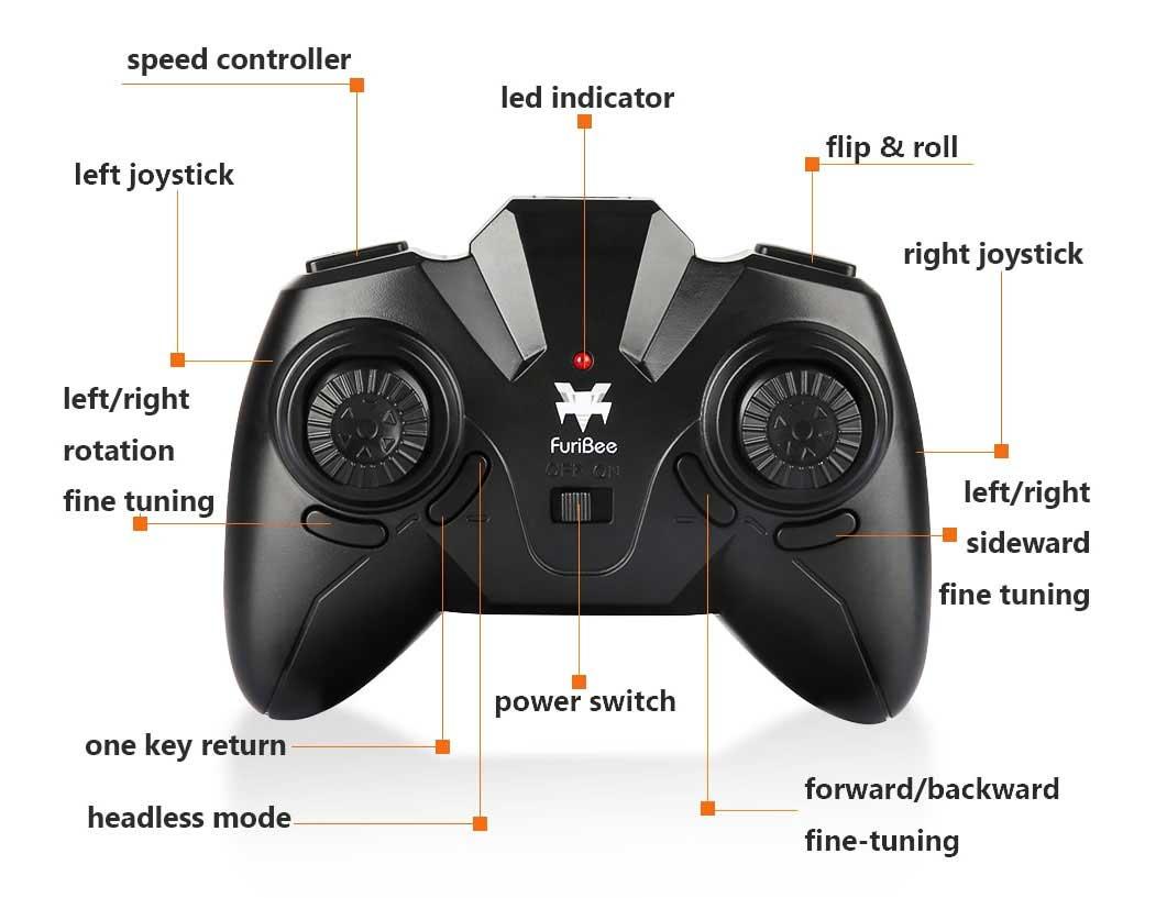 FuriBee H815 drón távirányító