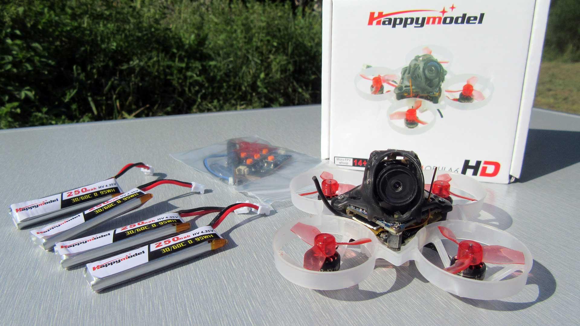 Happymodel Mobula6 HD drón teszt