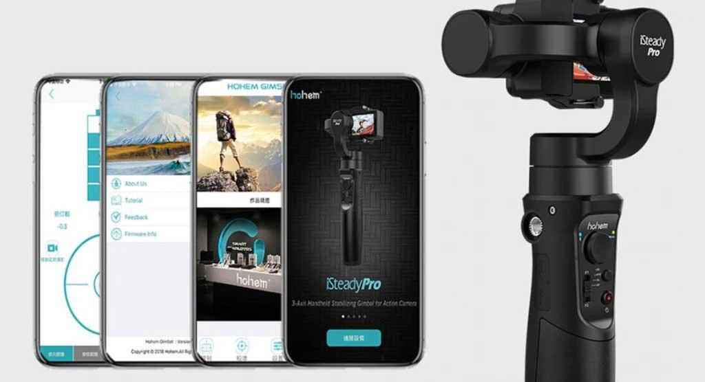 iSteady Pro 2 akciókamera gimbal app