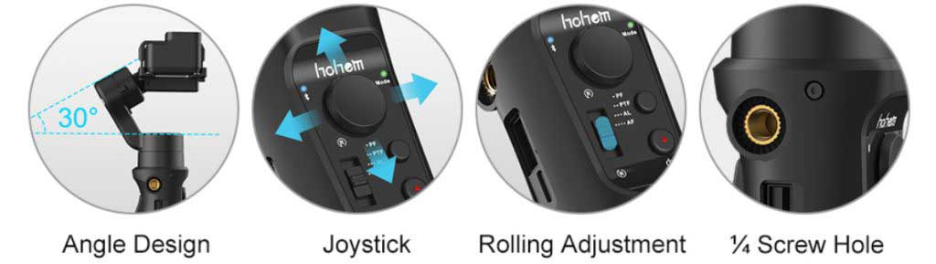 iSteady Pro 2 akciókamera gimbal