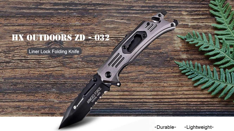 HX OUTDOORS ZD - 032 taktikai túra kés