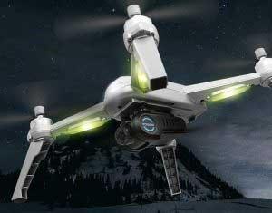 JJRC JJPRO X5 EPIK drón teszt éjszakai repülés