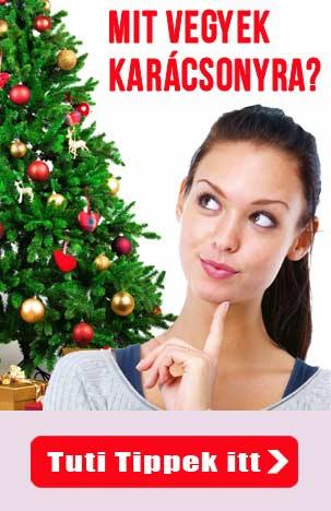 karácsonyi ajándék ötletek - Mit vegyek karácsonyra?